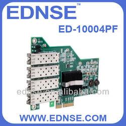 server adapter card ED-10004PF network interface card SFP Slots*4 NIC
