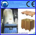 la plataforma de madera de registro de la prensa de la máquina