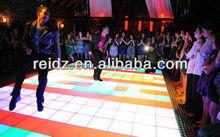 night club decor waterproof DVI attractive led video floor xxx china photo