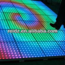 night club decor waterproof DVI led video floor/panel