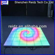 night club decor waterproof DVI led video floor screens
