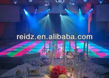 night club decor waterproof DVI control led dance floor tiles