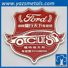 Custom big car club emblem badge