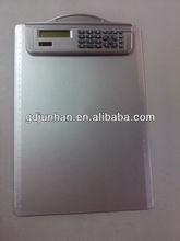 A4 8 digitale dual power clipboard-rechner