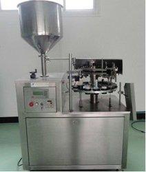 semi automatic tube filling and sealing machine