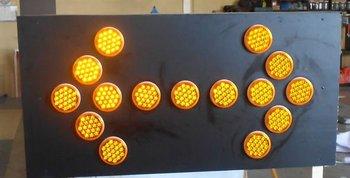 LED FLASHING WARNING SIGN