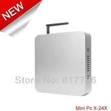 HTPC MATX Mini atx case Computer case with Industrial Motherboard mini desktop pc D2500