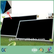 Black chrome plated copper solar heater water concentrator panel