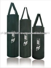 Hanging Black Heavy Parachute Nylon Boxing Punching Bags