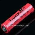 Batería recargable 1,5 V AA Trustfire Batería li-ion IMR14500 700 mah para cigarrillos electrónicos