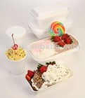 Ice-Cream Box, Gelato Box & Tub with Inside Liners and Cover