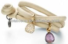 gioco di cuoio braccialetto braccialetto di cuoio con fibbia cinturino in pelle braccialetto con borchie