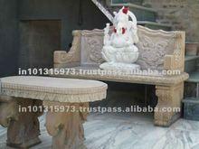 Decorative Ganesha Stone Statue
