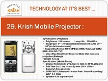 Mobile projector