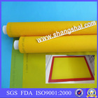 100% polyester linen look fabric/high tension screen printing mesh