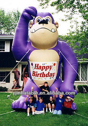 custom giant grape inflatable ape cartoon event decoration