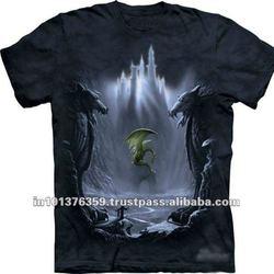 3d digital printed t shirt