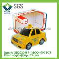 brinquedos de plástico amarelo de taxi carro russo táxi elétrico