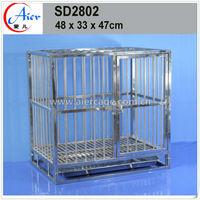supply hot sale design pet product steel folding dog cage