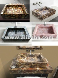 Gemstone sinks
