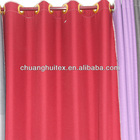 100%polyester blackout/ Imitation linen kitchen curtains door curtain hotel curtain