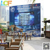 High resolution full color RGB LED high outdoor P10 video curtain display LED from Shenzhen