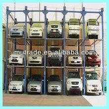 auto show storage car parking system stacker parking structure