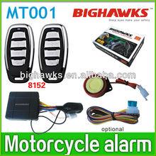 motorcycle alarm with remote start MT001-8152 engine start