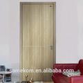 التصميم الكلاسيكي باب خشبي تعزيز للداخلية