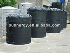 Solar roof water tank