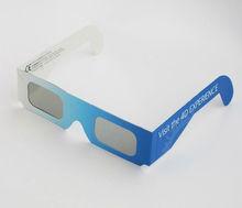 折り畳み式紙ペーパーワンオフカスタムロゴの紙メガネメガネのアイウェア