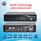 New azbox bravissimo TWIN HD with IKS/SKS free ,wtin tuner