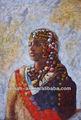 handpainted siyah kadın resimleri