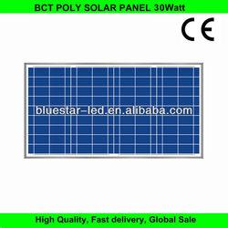 BCT 30w polycrystalline mini solar panel