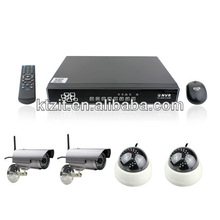 New 4CH CCTV NVR WIFI IP Camera Kit/Security Alarm System NVR Wifi Camera Kits