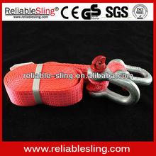 ratchet cravatta cinghie per il trasporto auto