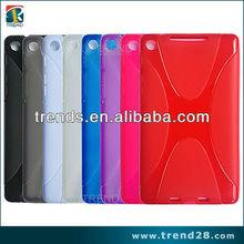 x shape tpu case for google nexus 7
