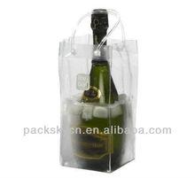 pvc wine gift ice bag
