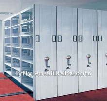 commercial metal shelving in KD structure