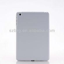 Solid color matte skin hard shell for mini ipad case