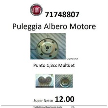 Fiat Drive Pulley