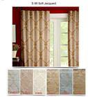 Silk effect curtains