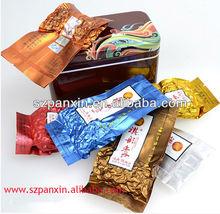 Attractive design vacuum pack bags for tea