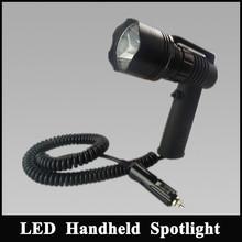 Hunting Spot lights 12v cagar lighter, 10w led flashlight Hunting spotlight