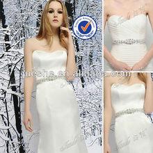 Heavily Embellished Pearls Beaded Crystal Rhinestone Belt for wedding dress