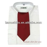 New design shirts 2013 long collar shirt men
