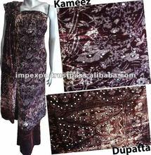 Ladies Winterwear Fancy Velvet Suit Shawl
