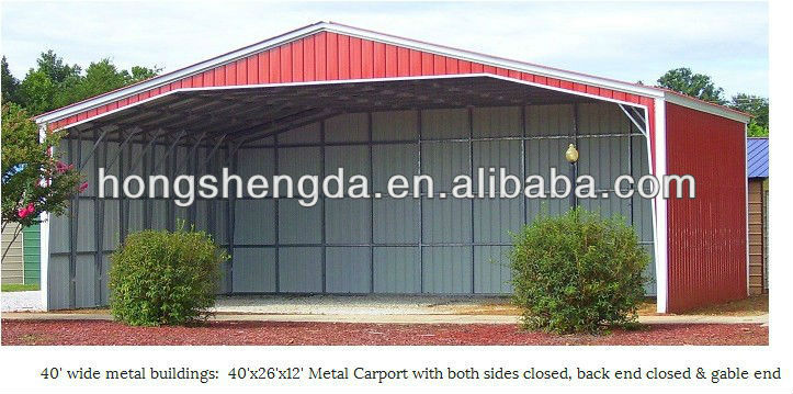 Pas cher moderne m tal voiture auvent carports abri made in china garage - Garage metallique pas cher ...