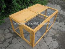 Outdoor Wooden Folding Rabbit Run / Wooden Rabbit Cage / Folding Rabbit House Hutch