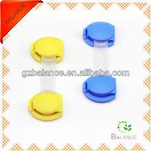 household sundries baby safety plastic lock/push plastic cabinet lock closure